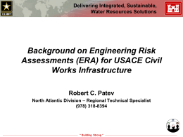 Background on Risk and Reliability for USACE Civil Works