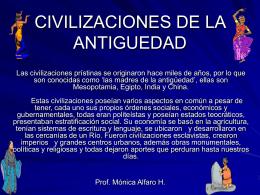 CIVILIZACIONES DE LA ANTIGUEDAD.pps