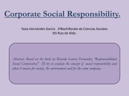 Yaiza Hernandez Resp.Social Corporativa(Ingles)