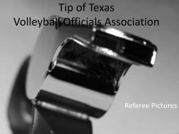 Tip of Texas Volleyball Officials Association