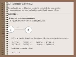 3.0 variables aleatorias