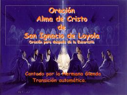 Alma de Cristo - Hermana Glenda