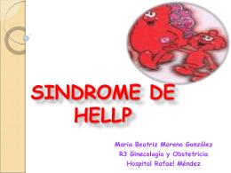 sindrome de hellp - Sociedad Ginecologica