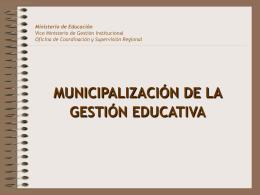 Oficina de Coordinación y Supervisión Regional
