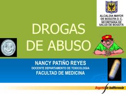 DROGAS DE ABUSO ILEGALES