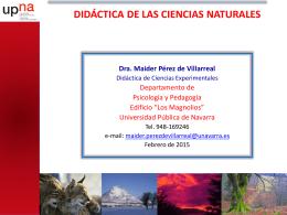 Presentación de PowerPoint - Universidad Pública de Navarra