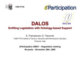 eParticipation 2006/1 – Negotiation meetinghot!
