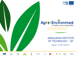 Agroenvironmed.- C4, Analysis.