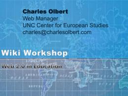 Wiki Workshop