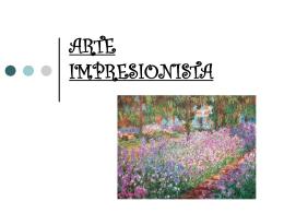 arte impresionista