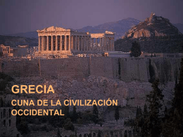 LA CIVILIZACIÓN GRIEGA - from Chilean Eagles College
