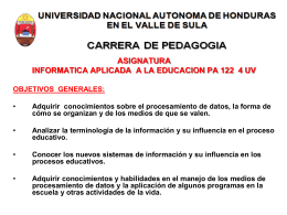 PLAN INFORMATICA EDUCATIVA 2014 pp
