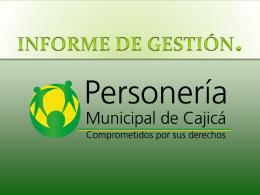 2012 2013 2014 2015 - Concejo Municipal de Cajicá en