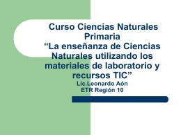 Curso Laboratorio-EP Ciencias Naturales - CIIE-R10