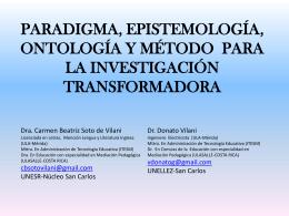 Diapositiva 1 - nucleo regional de estudios avanzados valencia