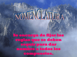 nomenclatura - WordPress.com