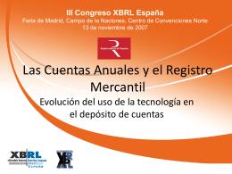 Diapositiva 1 - Asociación XBRL España