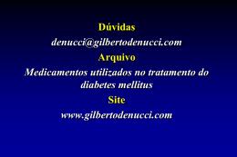 diabetic - Gilberto De Nucci