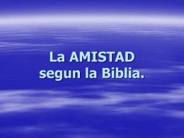 definicion biblica de amistad - Iglesia Centro Internacional Sion