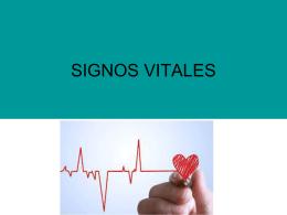 signos vitales diapositivas
