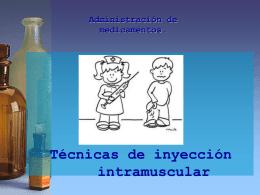 Vía Intramuscular