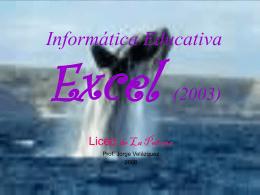 Excel, Presentación.pps