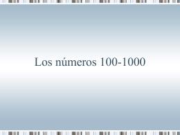 los números 100-10000 File