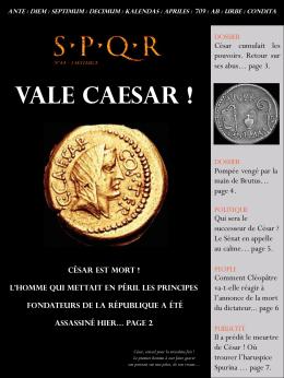 César est mort
