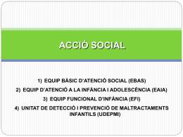 Acció Social - Consell Comarcal del Maresme