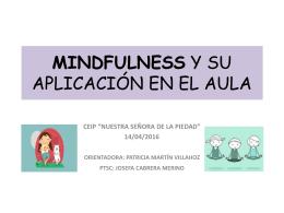 MINDFULNESS Y SU APLICACIÓN EN EL AULA