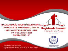 Slide 1 - Portal do RI