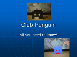 Club Penguin - WordPress.com