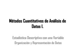 [Clase 03] Suma - Organización y Representación de Datos