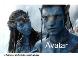 Avatar - Környezetgazdaságtani és Technológiai Tanszék