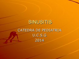 Sinusitis 2014