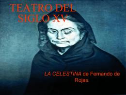 TEATRO DEL SIGLO XV