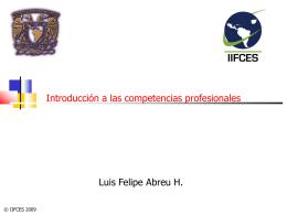 Introducción a las competencias profesionales