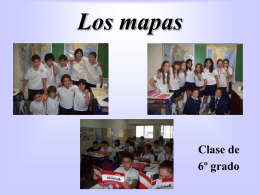 Los mapas - Instituto Educativo Modelo