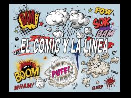 el cómic y la línea