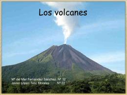 cono volcánico