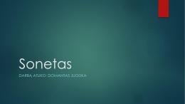 Sonetas - Vytautas
