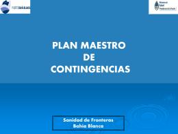 Plan de Contingencia Puerto de Bahía Blanca File