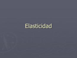 coeficiente de elasticidad