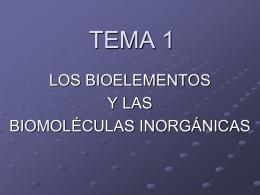 TEMA 1 - BioGeoAlarcos