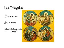 Los Evangelios - SC Monjas Inglesas