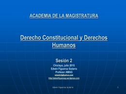 AMAG 2015 Derecho Constitucional Sesión 2 11jul2015