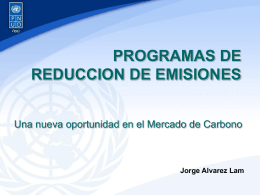 Programas de reducción de Emisiones