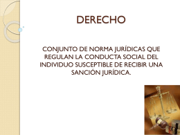 Directum = dirigir o conducir Estudia las leyes y su aplicación en la