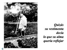 Ghandi - Bienvenido a Oracionvocacional.org