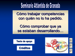 Diapositiva 1 - Competencias Básicas Huelva